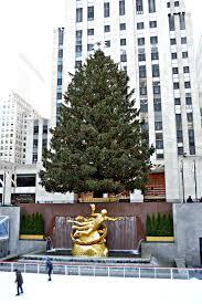 Rockefeller Plaza Christmas Tree Address by Christmas In New York City The Wandering Weekenders