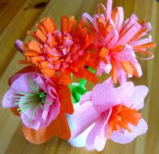 Handmade Crepe Paper Flowers