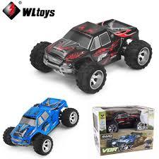 1 Set Wltoys A979 1:18 Scale Toys 2.4G 4WD 50km/h RC Bigfoot Rc Car ...