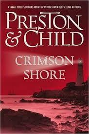 Crimson Shore Agent Pendergast Series Bookcover