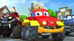 100 Truck Song Halloween Monsters Car Rhymes And S For Kids YuppTV India