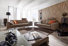 grand canape canapé 2 places en cuir design idyl