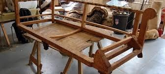 fabriquer un canapé en bois quels sont les é de fabrication d un fauteuil ou canapé
