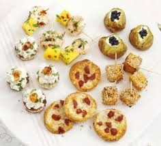 m fr canapes the diy wedding guide food