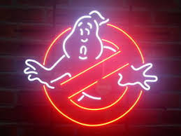 new ghostbusters no ghosts pub home bar neon sign wall decor