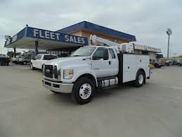 100 Service Truck With Crane For Sale F750 Utility S