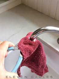 Cant Remove Faucet Aerator by Eleven Gables How To Fix A Spraying Faucet