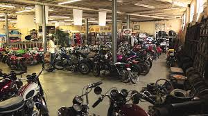 garage company vintage bike shop and collection on two wheels