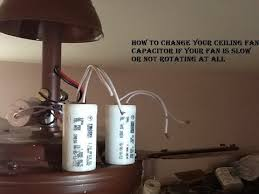 how to change your ceiling fan capacitor youtube