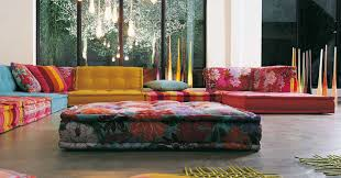 100 Roche Bobois Sofas Designed By Hans Hofer The Mah Jong Modular Are