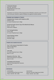 New Resume Sample Of A Teacher Samples For Teachers Post Job Examples Awesome