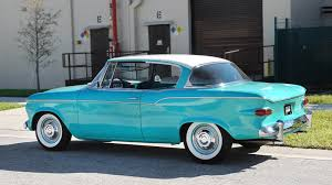 This Hawaiian Green Beauty Is A 1959 Studebaker Lark VIII Regal ... Studebaker 12 Ton Pickup A Bit Wrinkled 1959 4e7 1956 Transtar For Sale 18177 Hemmings Motor News 1949 Low And Behold Custom Classic Trucks Brochure Directory Index Studebaker1959 Truck Husband Stuff Pinterest Cars 1953 For Sale Pictures Youtube Preowned Gorgeous Runs Great In San 1957