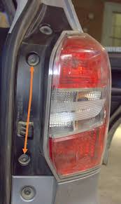 how to replace the taillight assembly on a 2014 forester