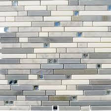 2x8 Glass Subway Tile by Splashback Tile Mosaic Tile Tile The Home Depot