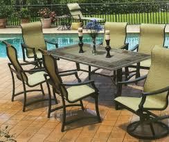 Suncoast Patio Furniture Replacement Cushions by Decorating Sling Chair Replacement Fabric Suncoast Patio