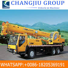 100 Truck Mounted Cranes China Used Crane With 25 Tons Foldable Arm Crane For