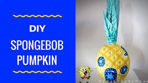 Spongebob Pumpkin Carving by Spongebob Pumpkin Diy Youtube
