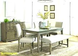 Dining Table With Bench 2 Benches Room Tables