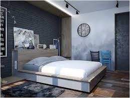 chambre style industrielle décoration chambre adulte style industriel moderne
