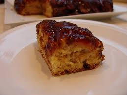 Mystery Lovers Kitchen Bananas Foster Upside Down Cake