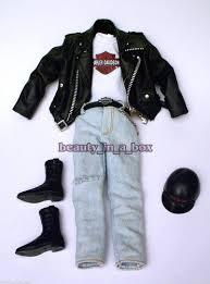 100 Harley Davidson Lounge Chair Red Velvet Accessory For Barbie Doll 2