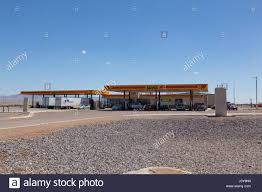100 Truck Stops In New Mexico Loves Stop In Lordsburg 4 People Visible Stock