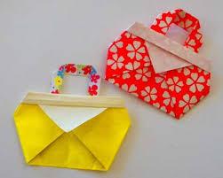 Crafts For Kids Folding Cute Bag