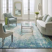 The Looking Glass Rug Adds Romance To A Living Room With An Impressionistic Floral Pattern Image Perigold