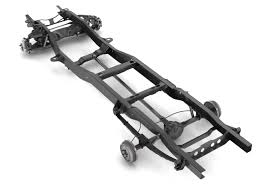100 Truck Chassis PICKUP TRUCK CHASSIS 2WD 3D Model In Cart 3DExport