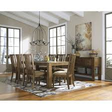Birnalla 9 Piece Dining Set With Server
