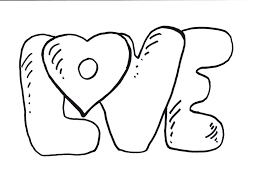 Hearts With Wings Coloring Pages Heart For Teenagers At Love