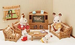 sylvanian families 5339 landhaus wohnzimmer puppenhaus einrichtung möbel