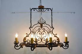 kitchen kitchen chandelier with pillar candles white