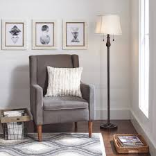Mainstays Etagere Floor Lamp Replacement Shade by Better Homes And Gardens Double Pull Chain Walmart Com