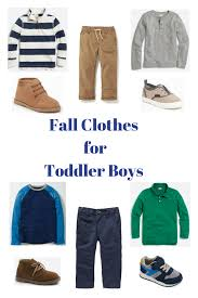 Thoughts For Thursday Fall Clothes Toddler Boys