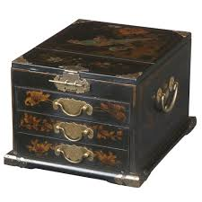 Amazon.com: EXP Handmade 11-Inch Black Leather 3-Drawer Chinese ... 6 Drawer Jewelry Armoire In Armoires Oriental Fniture Rosewood Box Reviews Wayfair Boxes Care Sears Image Gallery Japanese Jewelry Armoire Handmade Leather Armoirecabinet Distressed 25 Beautiful Black Zen Mchandiser Innerspace Deluxe Designer With Decorative Mirror Amazoncom Exp 11inch 3drawer Chinese Vintage Lacquer Mother Of Pearl 5 Drawers Oriental Description Extra Tall 38 Best Asian Style Images On Pinterest Style Buddha