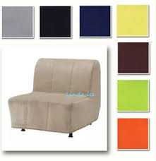 custom made cover fits ikea lycksele chair bed replace sofa cover