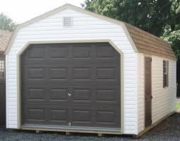 Vinyl Amish Built 1 Car Garages For Sale in Virginia and West Virginia