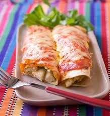 cuisine recette poulet enchiladas au poulet et fromage les meilleures recettes de cuisine