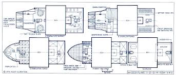Starship Deck Plans Star Wars by Star Trek Blueprints General Plans Mk Xii Robot Cargo Ship Ncc