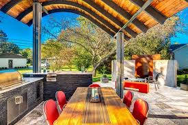 Garden Kitchen Ideas Modern Gas Grill And Fantastic Outdoor Kitchen Design Ideas
