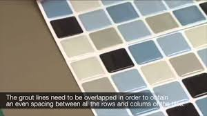 Smart Tiles Peel And Stick by Why Overlap The Grout Lines When You Install The Peel And Stick