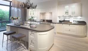 küche mit abgerundeten thekenenden haus küchen küche