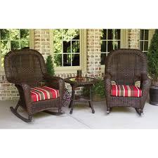 Resin Wicker Chairs Walmart by Home Decor Cozy Wicker Rocker Plus Tortuga Outdoors Lexington