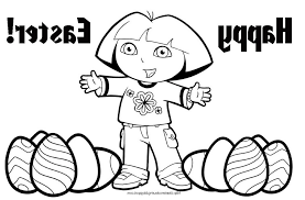 Dora The Explorer Easter Coloring Pages For You Print And Color 481720 Free 2015