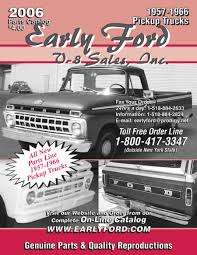 1957-1966 Truck Parts By Early Ford V-8 Sales