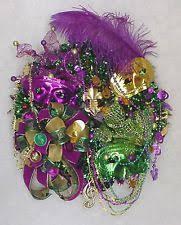 Mardi Gras Mask Door Decoration by Mardi Gras Wreath Ebay