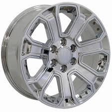 100 5 Lug Chevy Truck Rims 20 Wheels Goodyear Tires S TPMS Fits Silverado CV93 Chrome