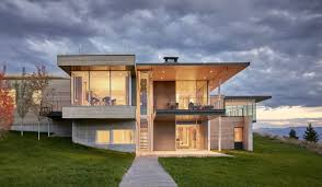 100 Modern Hiuse A House Accentuates A Sensational Wyoming Landscape Dwell