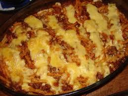 recette de gratin de pâtes à la viande hachée et au gouda la